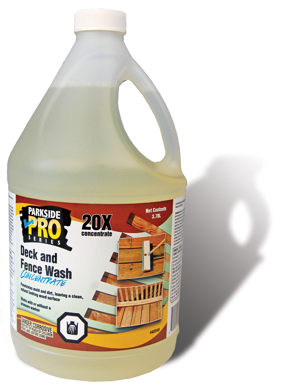 Deck and Fence Wash Concentrate