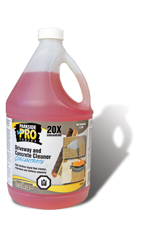 Driveway and Concrete Cleaner Concentrate