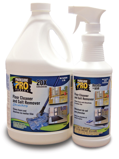 Floor Cleaner and Salt Remover