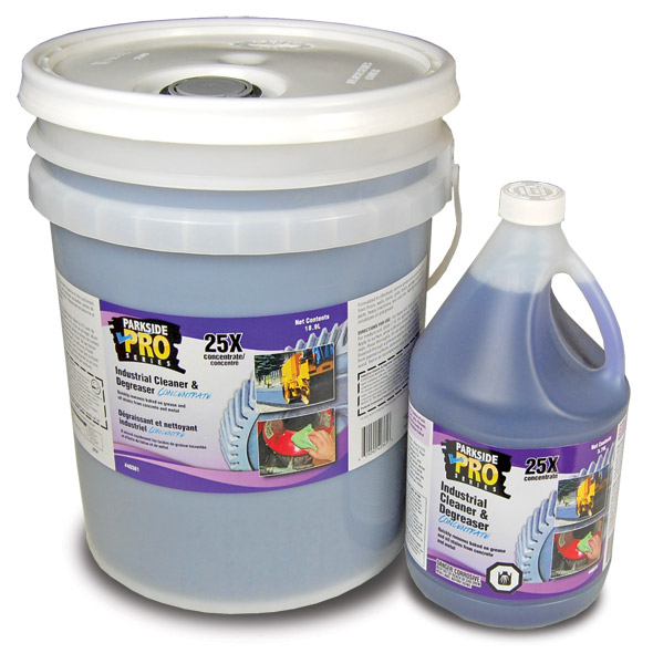 Industrial cleaner degreaser concentrate parkside pro for Concrete cleaner degreaser